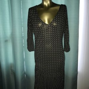 Marni t shirt dress geometric print